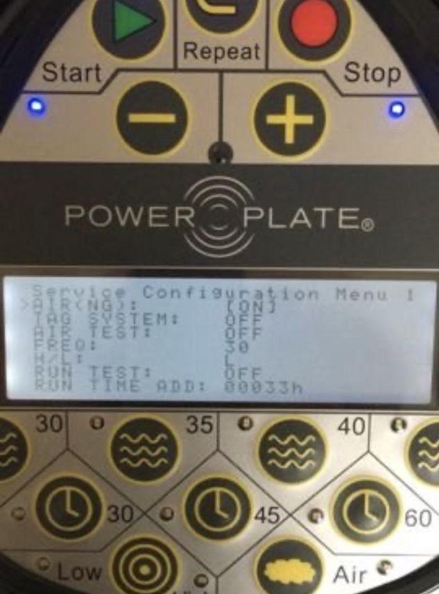Фото 1 - Power Plate Pro 5 время работы 33 часа